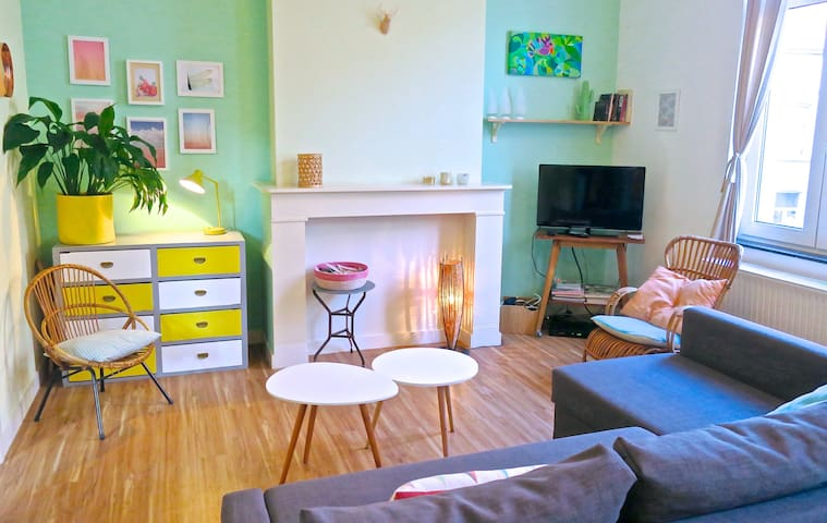 ARTIST APT*15 MIN FROM GRAND-PLACE - Ixelles - Appartement