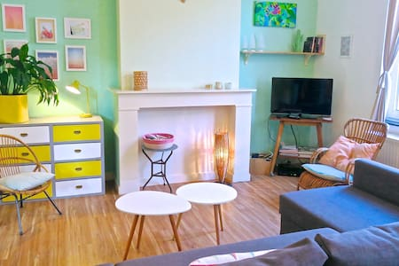ARTIST APT*15 MIN FROM GRAND-PLACE - Ixelles - Appartamento