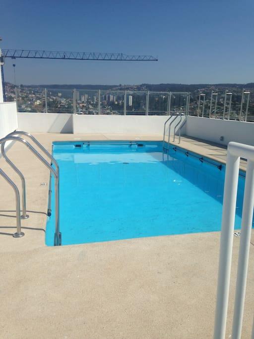 piscina panorámica