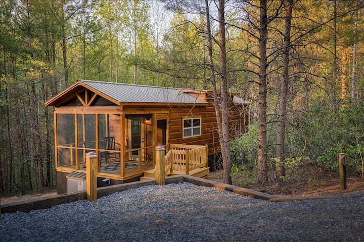 Couple's Escape-Shared Gazebo/Fire Pit/Private Outdoor Hot Tub (B)