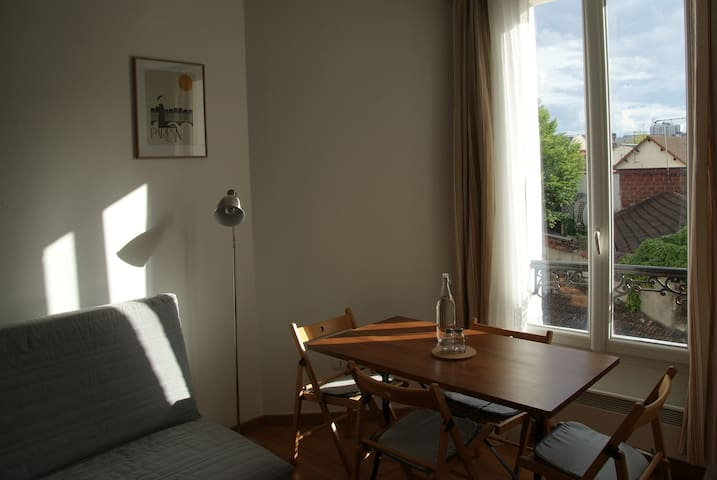 Appartement 2P 30m2 a proximité immédiate de Paris