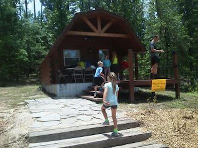 Thomas Falls Outdoor Adventures Lake Cabin
