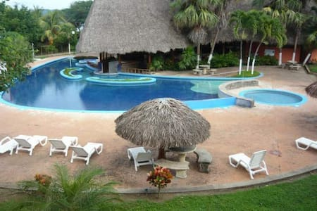 Double room in the beach in a 4* resort - El Jobo