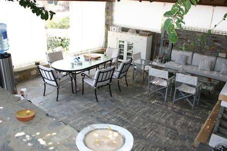 Villa Christina a l'île de Paros - パロス