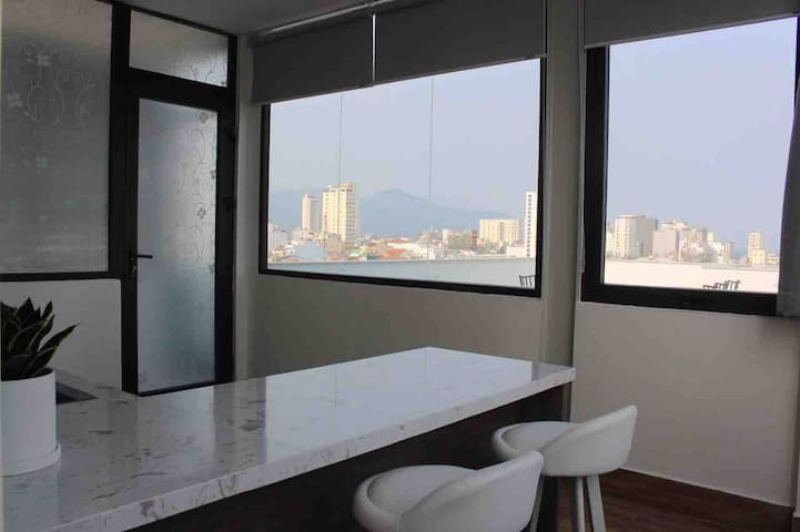 New&luxury 1br Apt expat 5' My Khe Beach&Han River