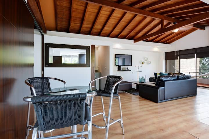 One Bedroom Penthouse - Best Location in Medellin