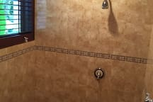 Coconut Palm Villa Guest Shower