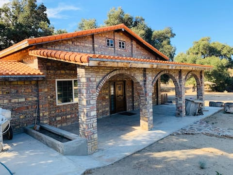 Rancho Ojos Verdes-Cabaña hasta 14 personas