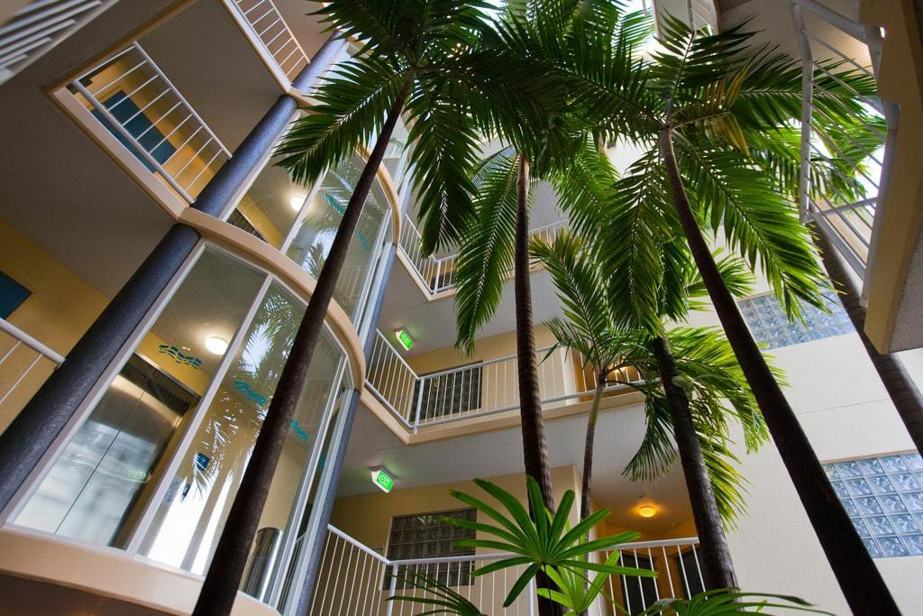 Internal Atrium & Lift access to room