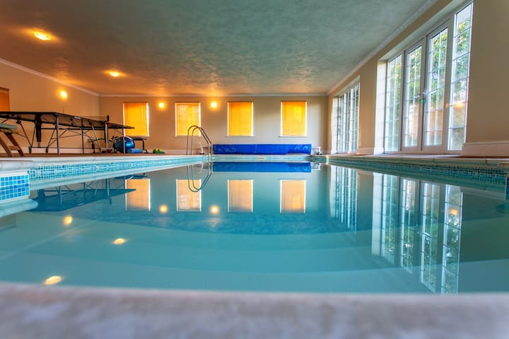 The Retreat with heated indoor pool - Wolferlow - Byt