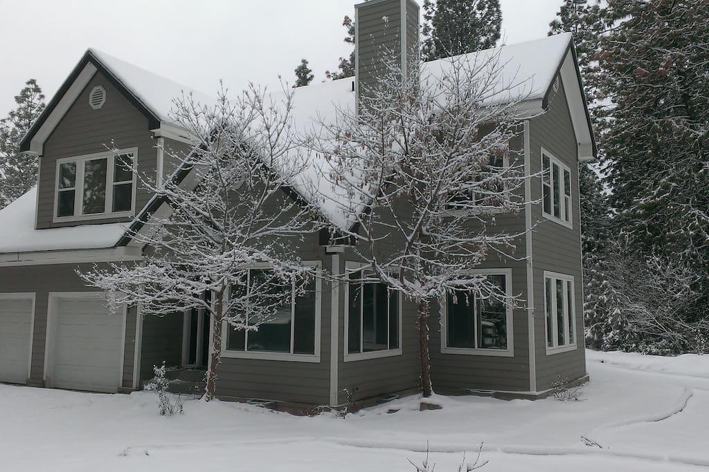 Home Exterior - Winter