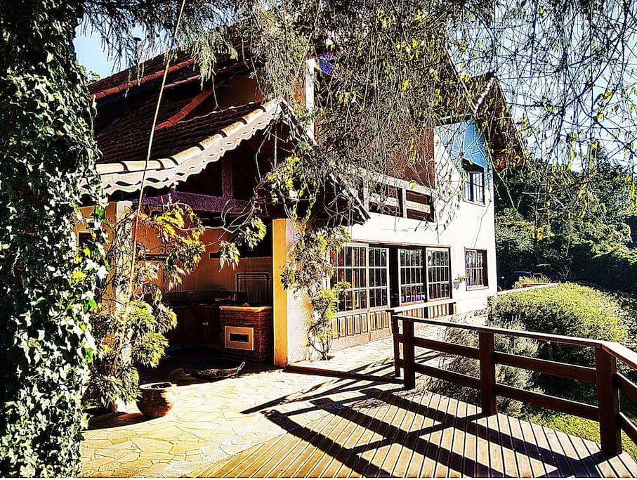 Casa vista deck