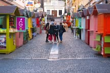 Old funicular in Tomićeva street - just 5 min. walk away