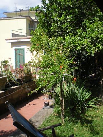Casa Nocera oasi con giardino e parcheggio