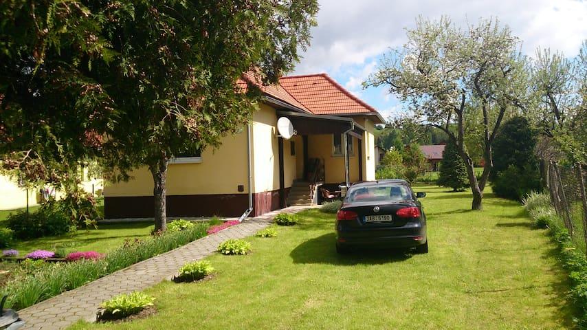 Nádherná dovolená na Slovensku - Podtureň - Casa