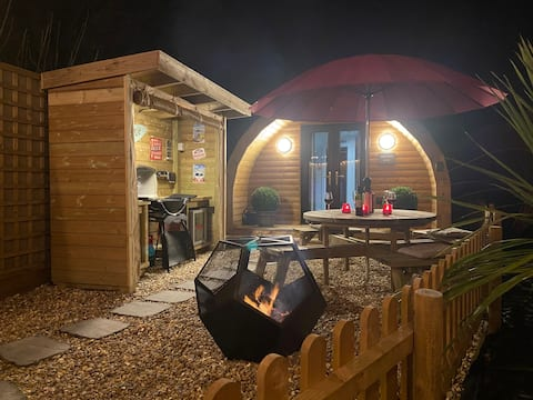Torvale Pod: Escape in style to luxury Hide Out