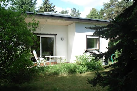 Ferienhaus an Waldsee in Brandenburg Nähe Berlin - Garzau-Garzin