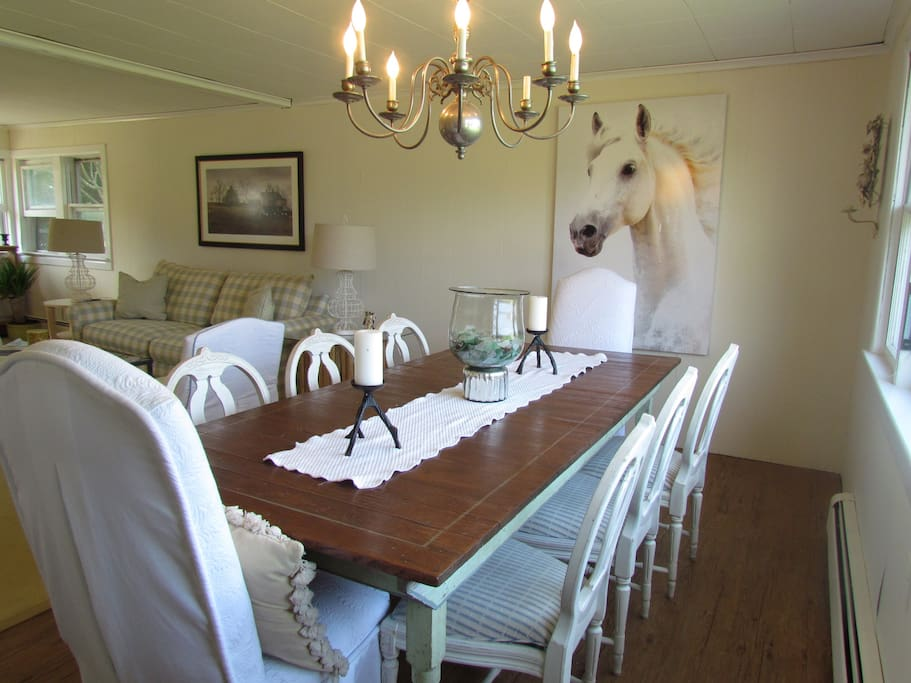 Dining Room sits 8-10 comfortably