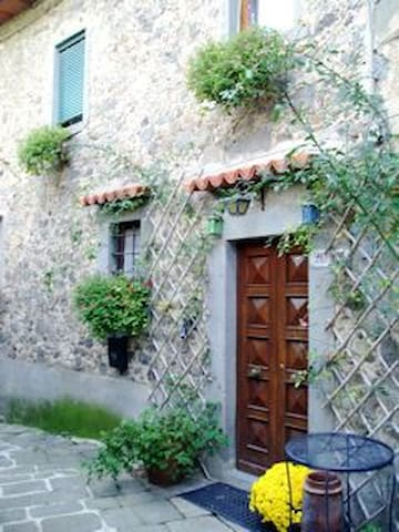 Tuscany Medieval village hill-house - Lanciole - House