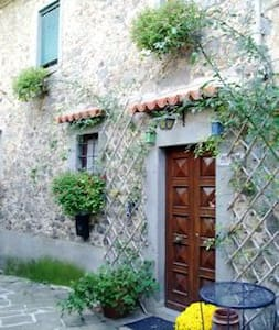 Tuscany Medieval village hill-house - Lanciole - Huis