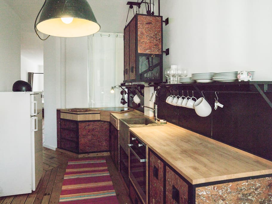 General view of the kitchen.