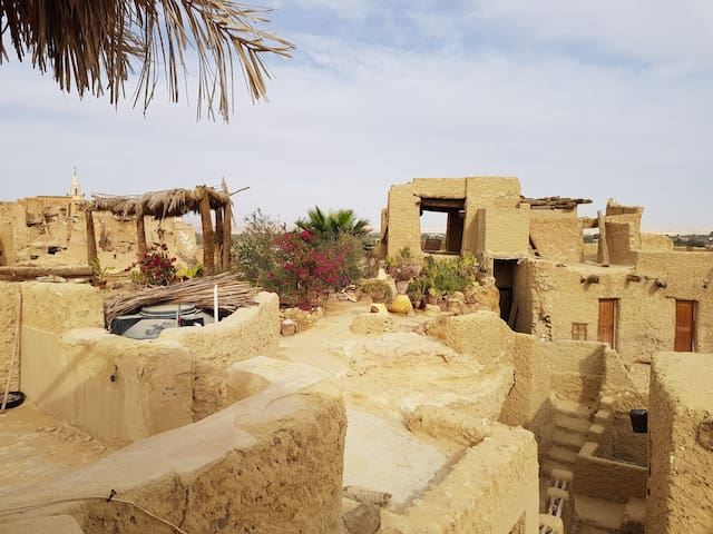 mountain houses of siwa. nanshal