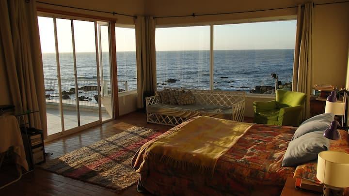 Linda casa vista de lujo El Quisco-Punta de Tralca