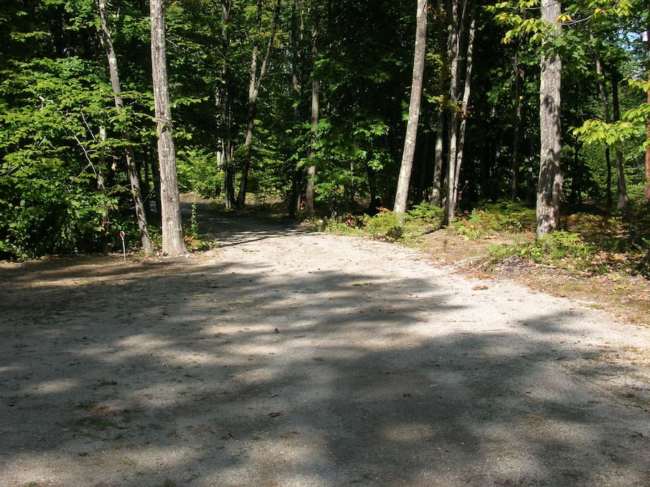 Driveway and Parking Area