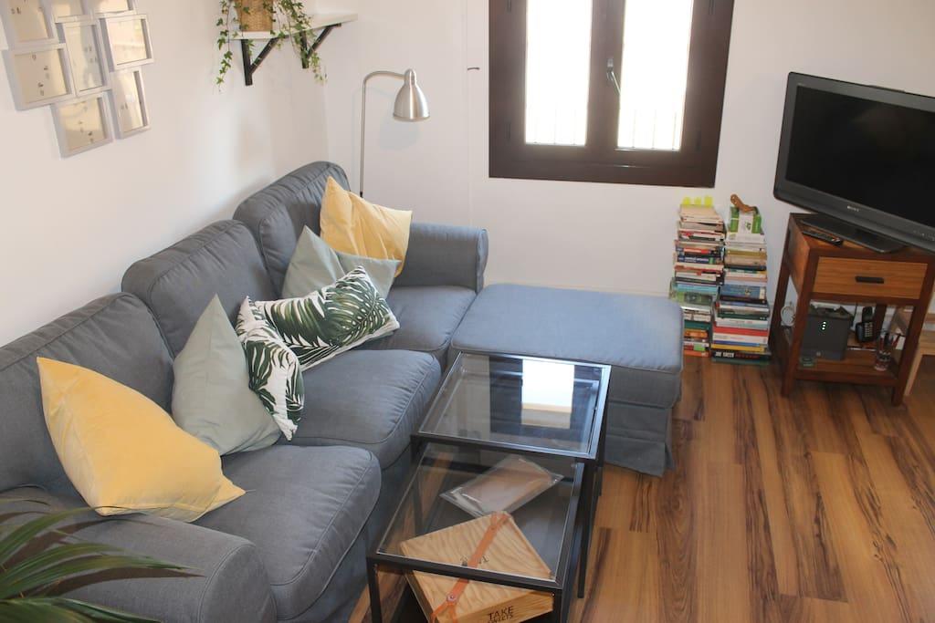 Cocina - Salón / Kitchen - Living room