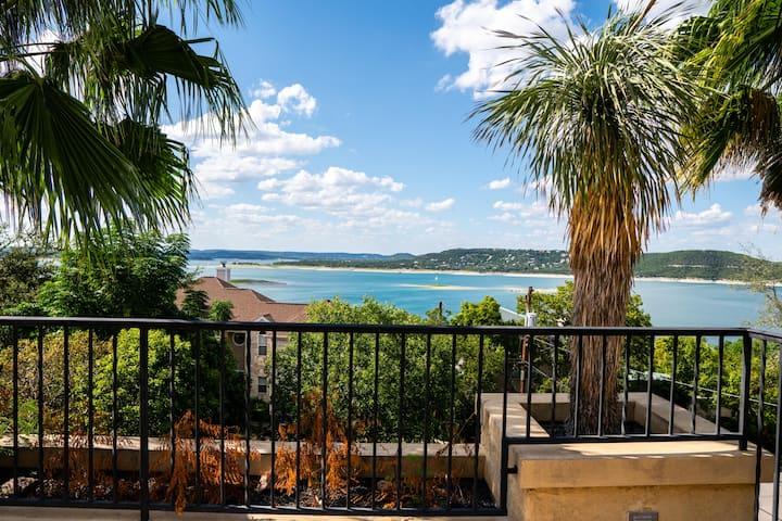 Three Stories of Panoramic Lake Travis Views