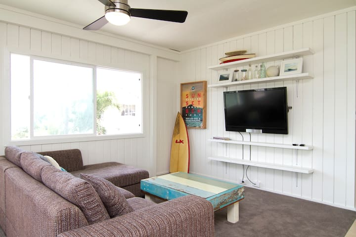 Hawaii Surf Inspired Home - Hauula - Apartment