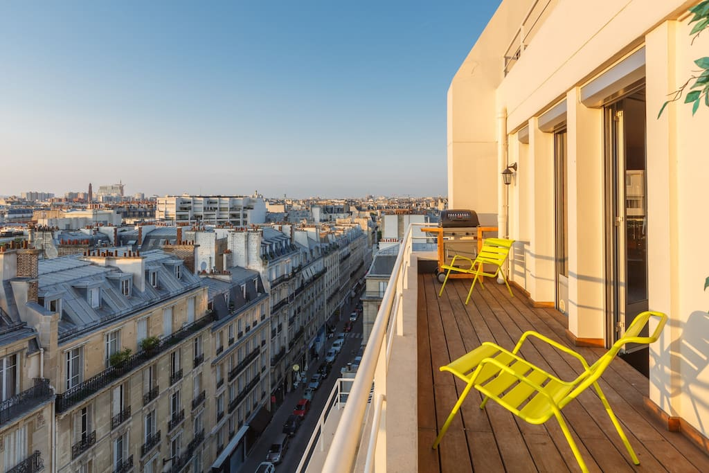 Loft in the sky great location lofts for rent in paris le d - Achat loft ile de france ...