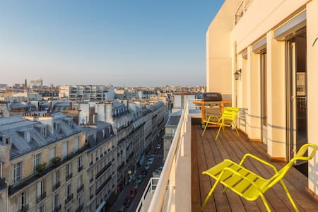 """Loft in the sky"", great location! - París"
