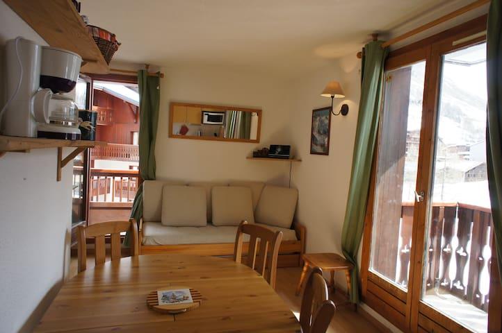 STUDIO CABINE, 4 personnes + lit d'appoint enfant - Val d'Isere