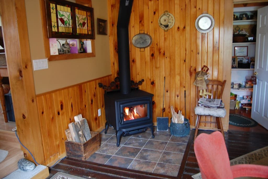 Cosy up to the stove