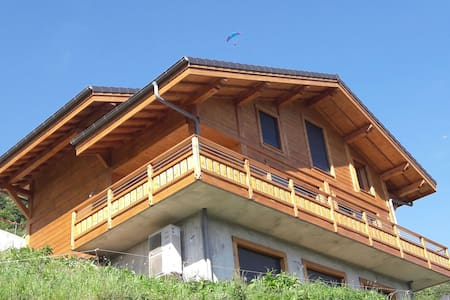 Amazing new chalet  (6 bedrooms) - 12 to 16 places