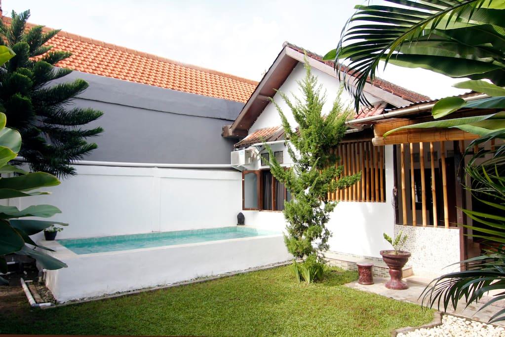 Nice villa Petit Canggu berawa,Bali