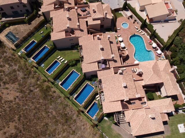 Mar da Luz - 4 people - private pool in the garden