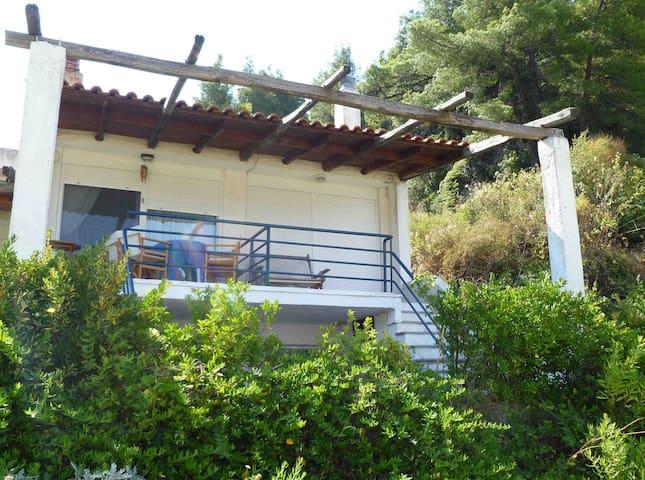 House with amazing view, Chalkidiki - Skala Fourkas - Hus