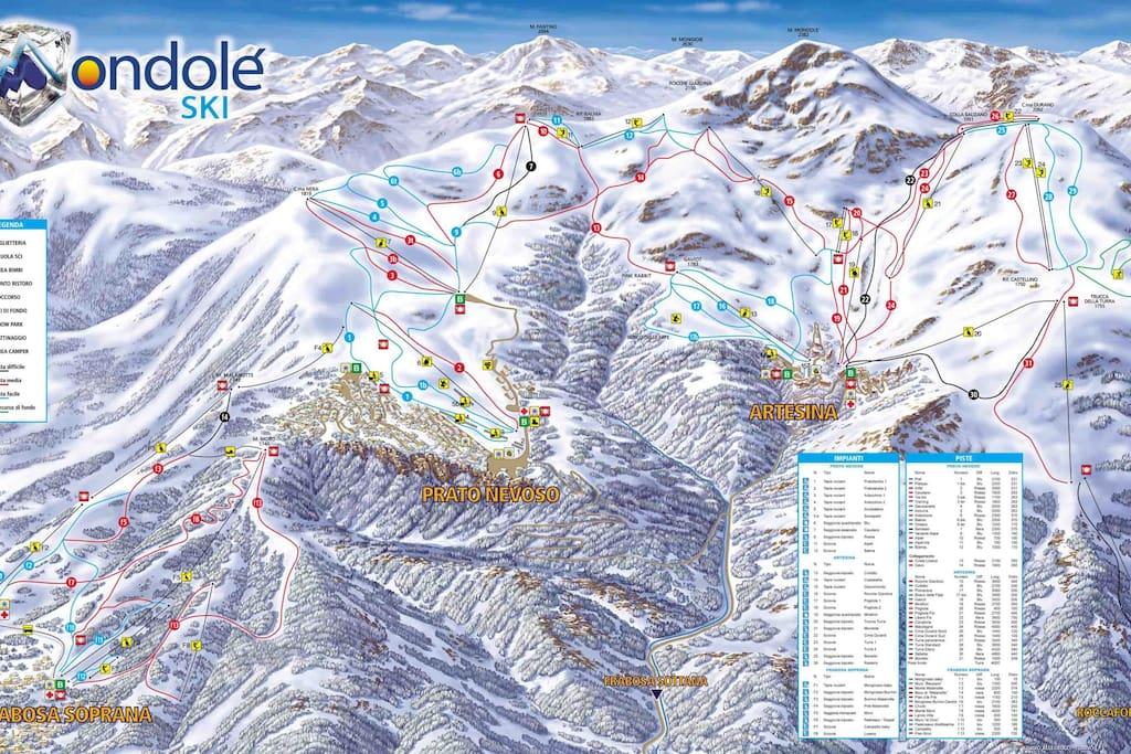 Mondolè Ski Area