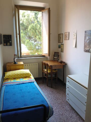 Single room in my house-Viareggio - Viareggio - Hus