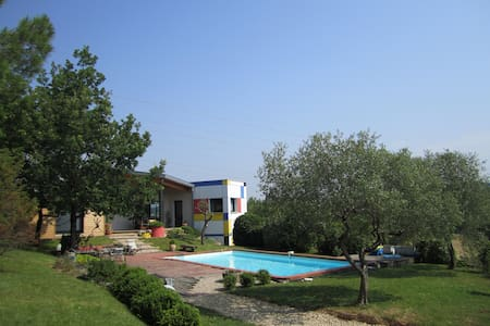 AMAZING HOUSE WITH SWIMMING POOL - Lagarrigue - House