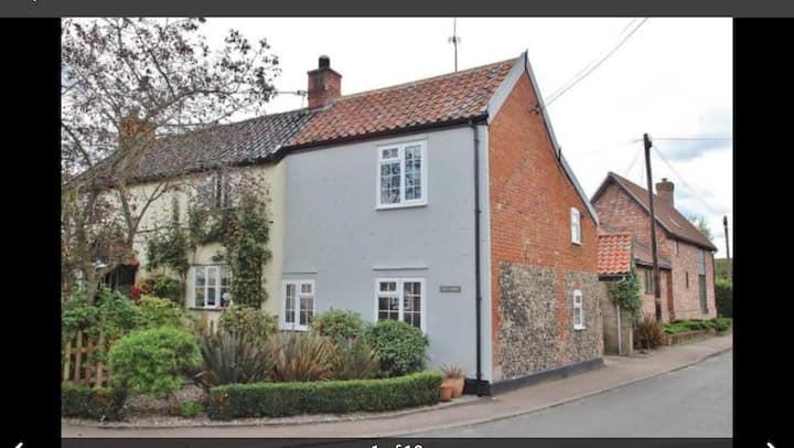 Victorian Cottage In Quiet Suffolk Village.