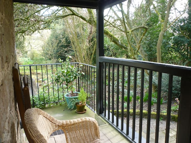 Veranda. A relaxing place to sit and listen to birdsong