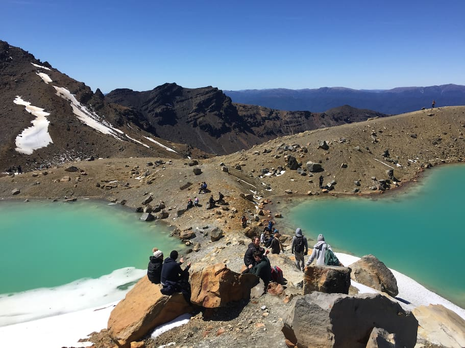 Spectacular views within The  Tongariro National Park