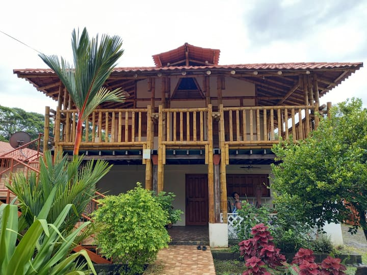 Bamboo House at Pangea Lodge Manzanillo