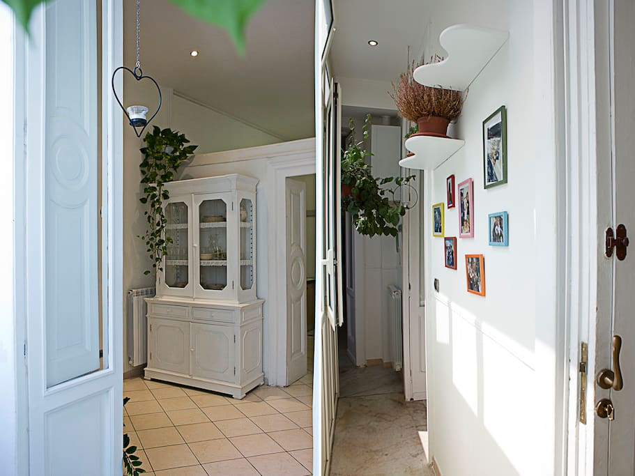 The sunny veranda