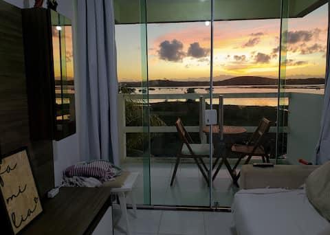 Apartamento melhor vista de Porto de Galinhas