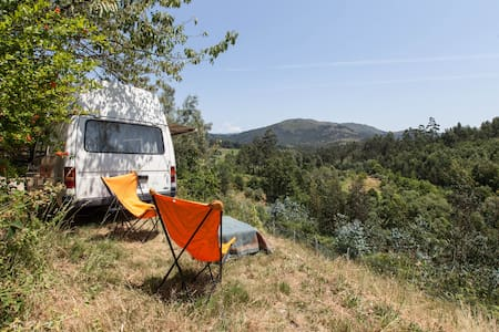 Caravan with view by the mountain - Estorãos