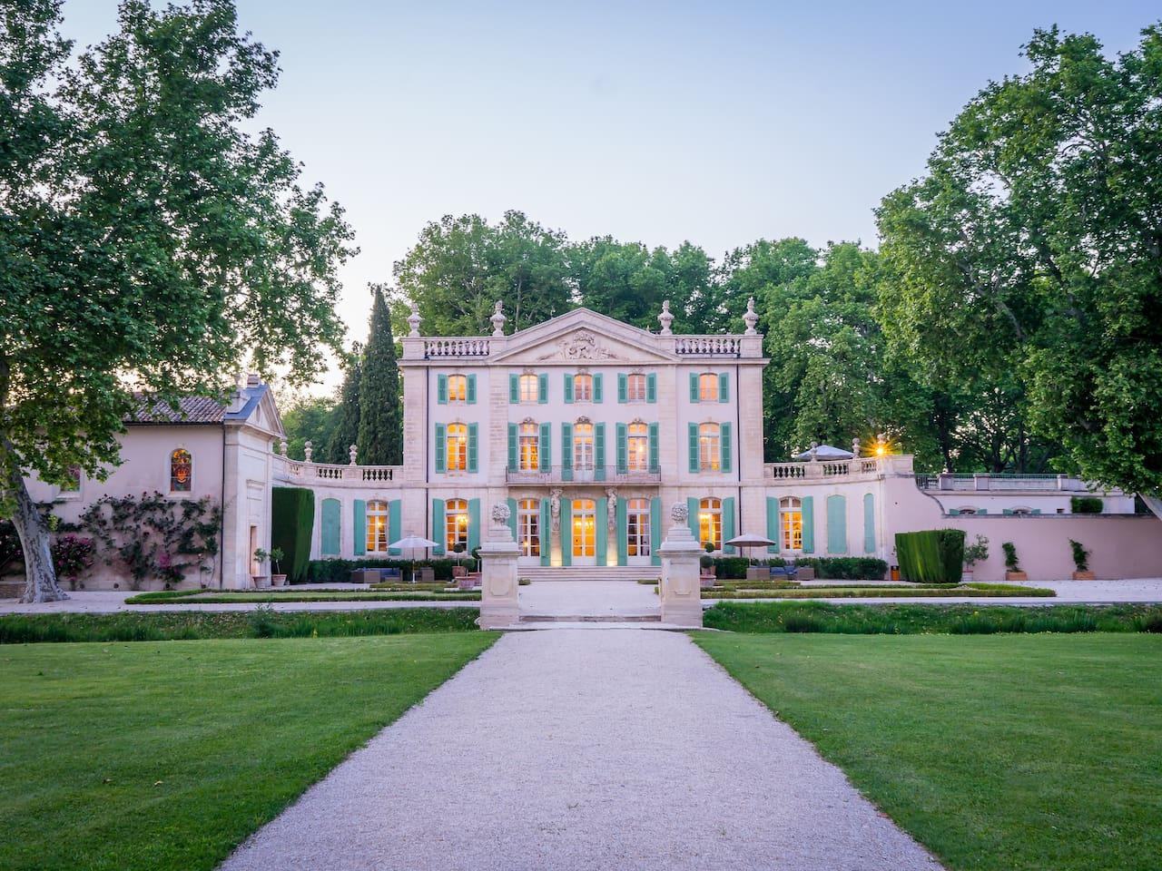 Château south-side view